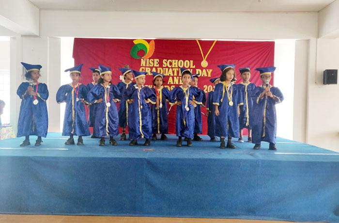 NISE Graduation Day - best icse school