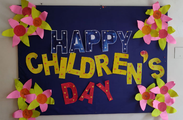 Happy Childrens Day At NISE - Top ICSE Schools in Coimbatore 2020