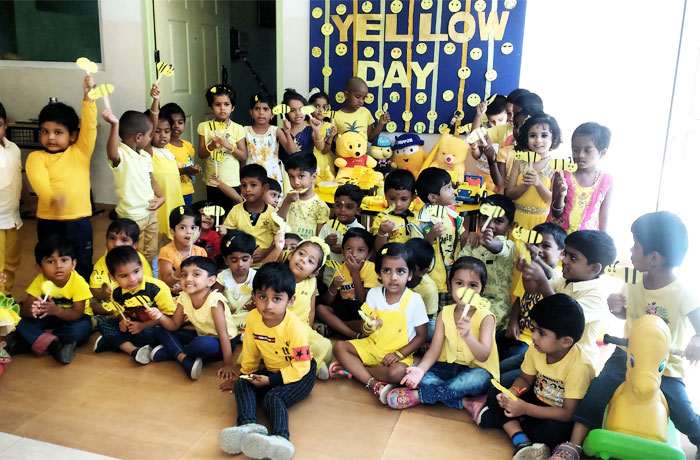 Yellow Day - international schools in tamil nadu