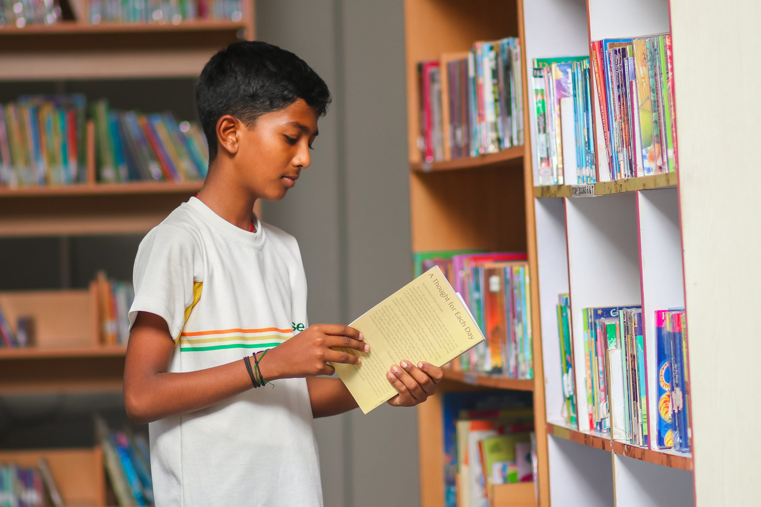 Learning moment at Library