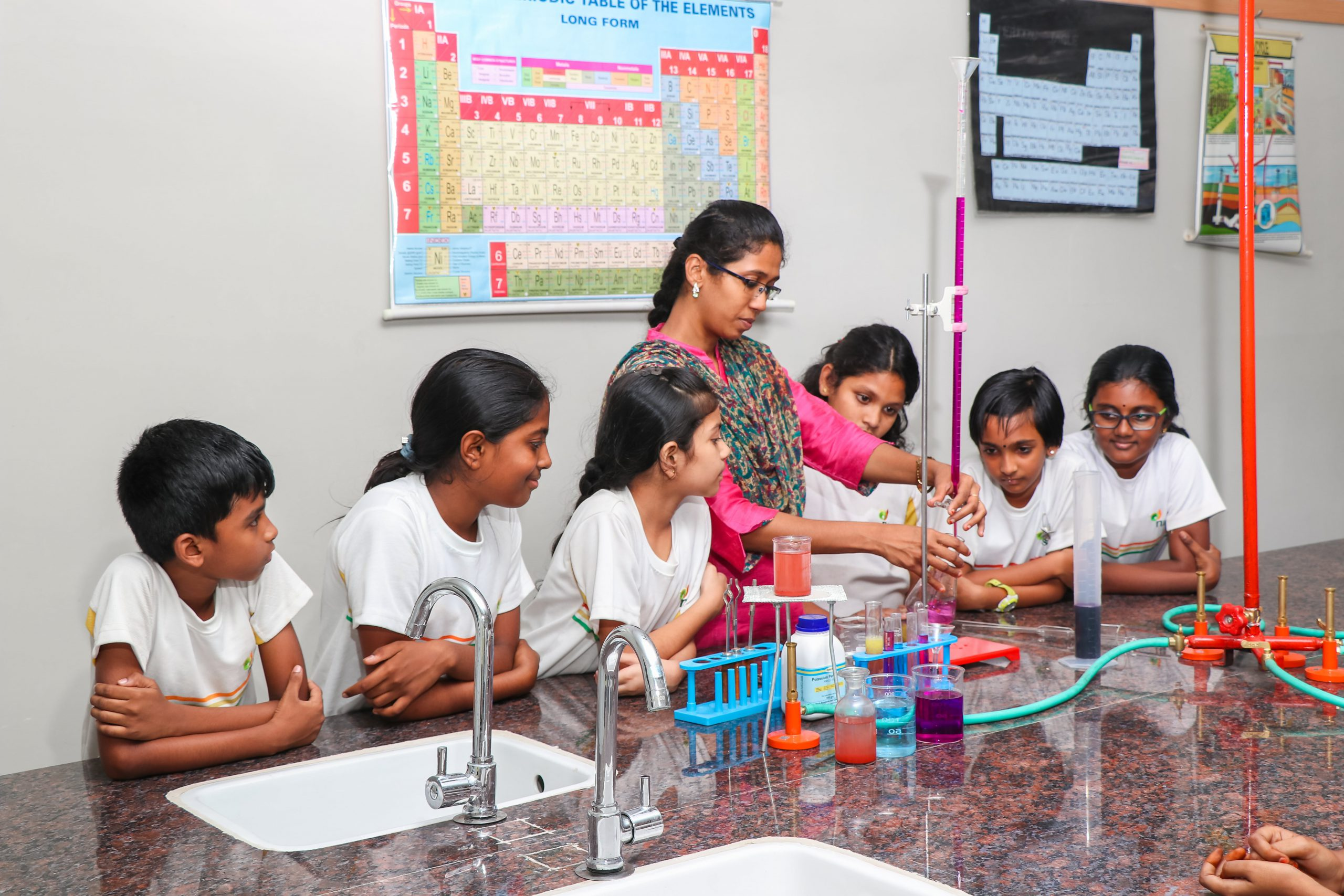 Chemical Lab Teaching - list of international schools in coimbatore