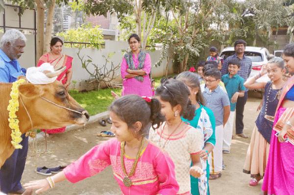 Pongal Celebration at Nise - top 10 international schools in coimbatore